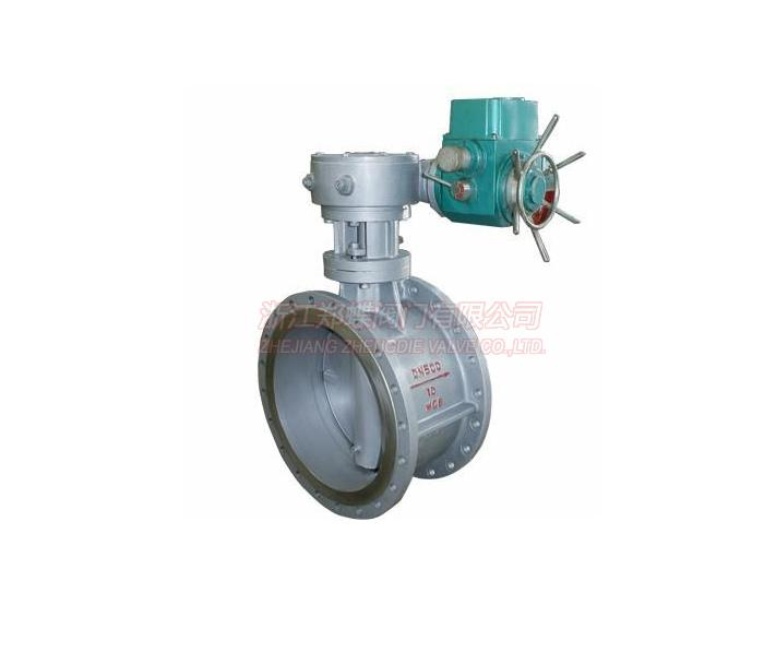 D941X- Electric Flange Soft Seal Butterfly Valve