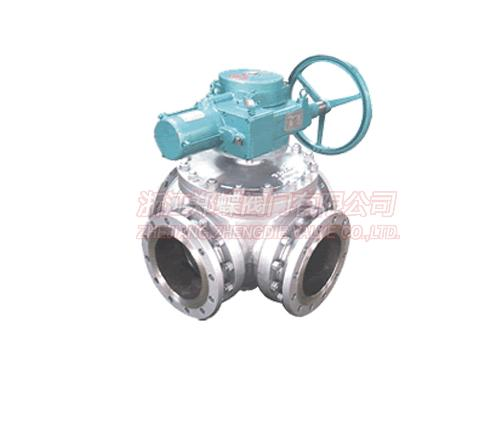 Electric Four-way Seal Ball Valve